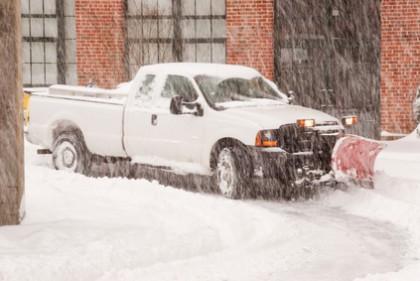 Snow Plowing & Salting