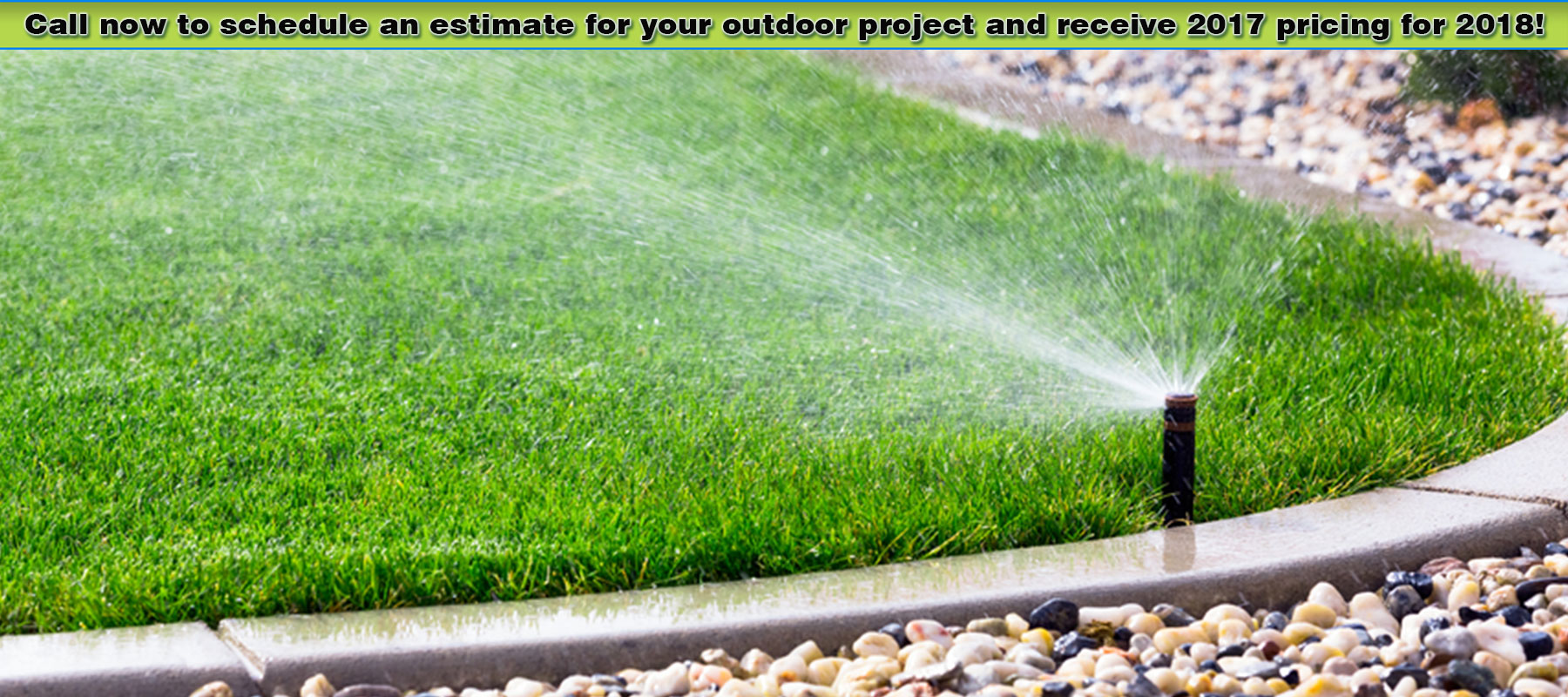 Howell irrigation company landscaping in howell mi for Local landscaping companies
